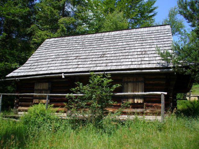 Dom na polanie - kliknij żeby powiększyć