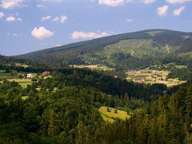 Domki w górach - kliknij żeby powiększyć