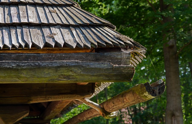 Drewniane rynny - kliknij żeby powiększyć