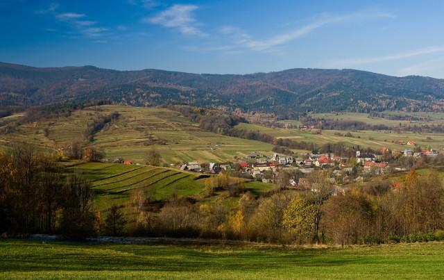 Górska wioska - kliknij żeby powiększyć
