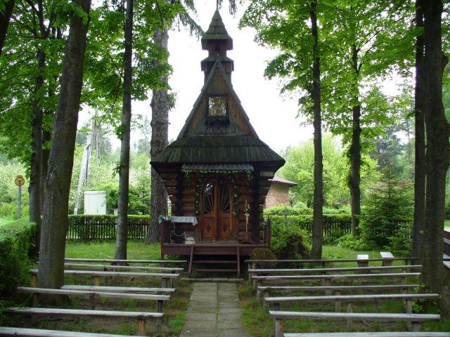Kaplica na Bińkówce - kliknij żeby powiększyć