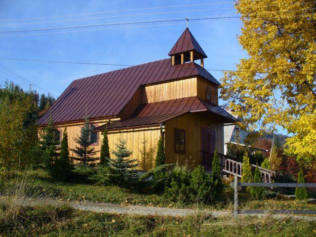 Kaplica na Wielkiej Polanie - kliknij żeby powiększyć