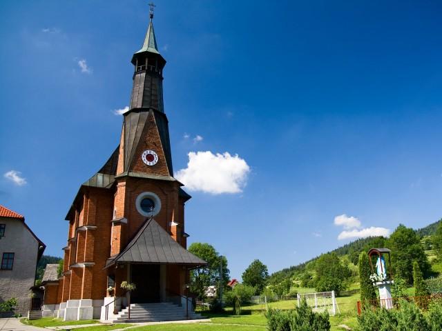 Kaplica w Sidzinie Górnej - kliknij żeby powiększyć