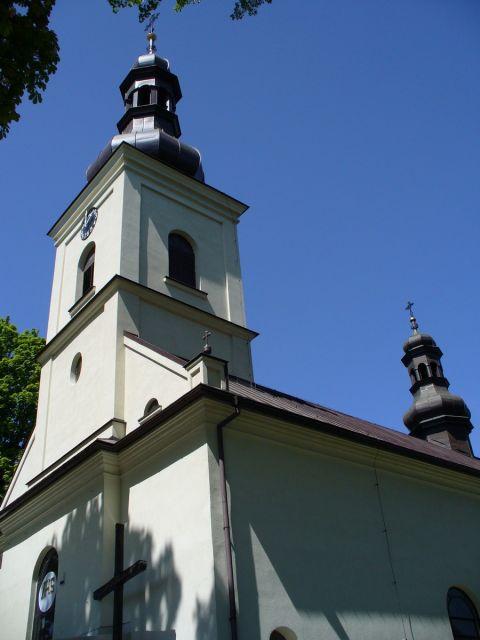 Kościół w Sidzinie - kliknij żeby powiększyć