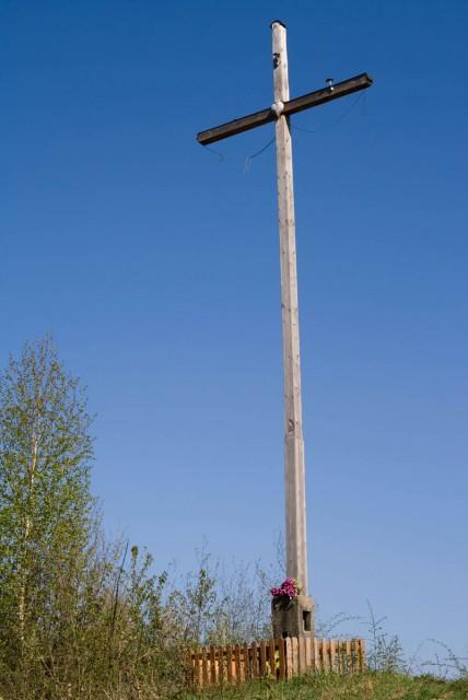 Krzyż na Wiertelowej Grapie - kliknij żeby powiększyć