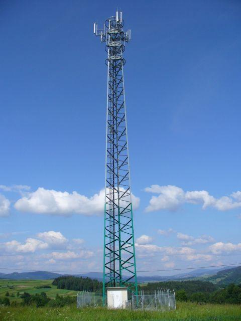 Maszt telekomunikacyjny - kliknij żeby powiększyć