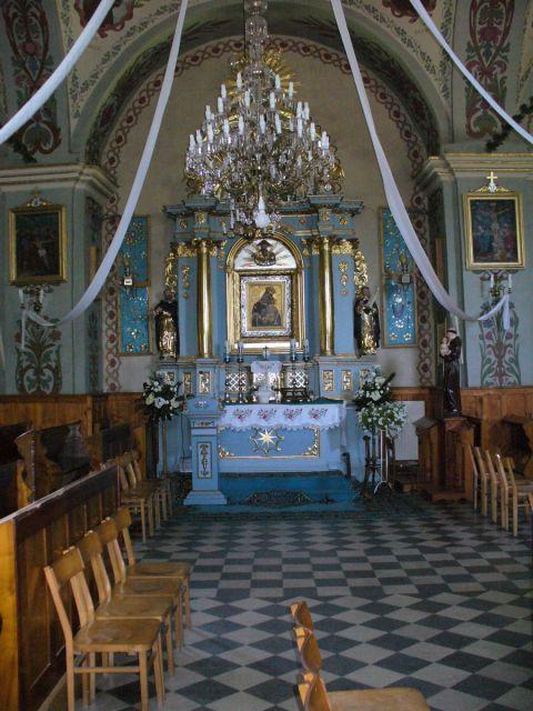 Ołtarz Matki Boskiej Sidzińskiej - kliknij żeby powiększyć