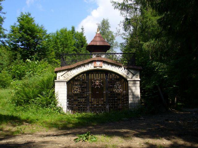 Partyzanckie mauzoleum - kliknij żeby powiększyć