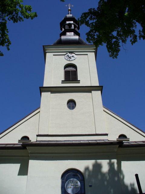 Wieża kościelna - kliknij żeby powiększyć