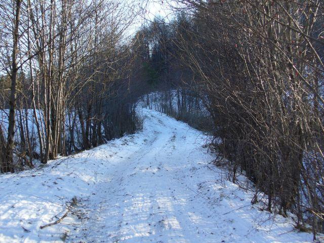Zamarznięta droga - kliknij żeby powiększyć