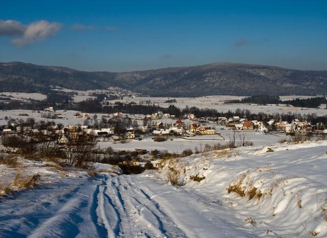 Zimowy pejzaż - kliknij żeby powiększyć