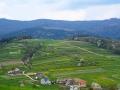 Domy na wzgórzu w Sidzinie