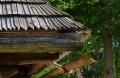 Drewniane rynny w Sidzinie