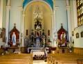 Wnętrze kaplicy w Sidzinie
