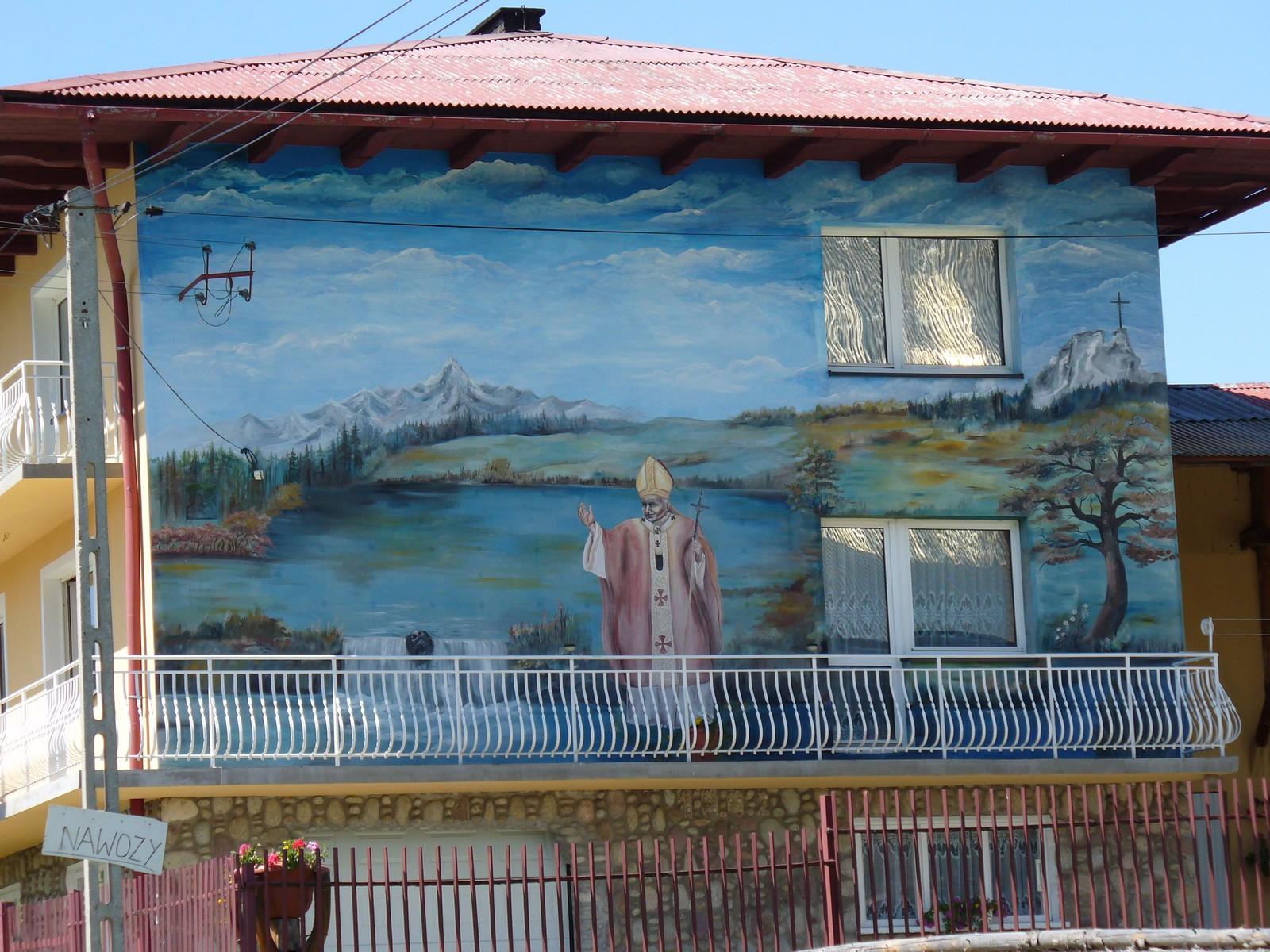 Dom z papieżem
