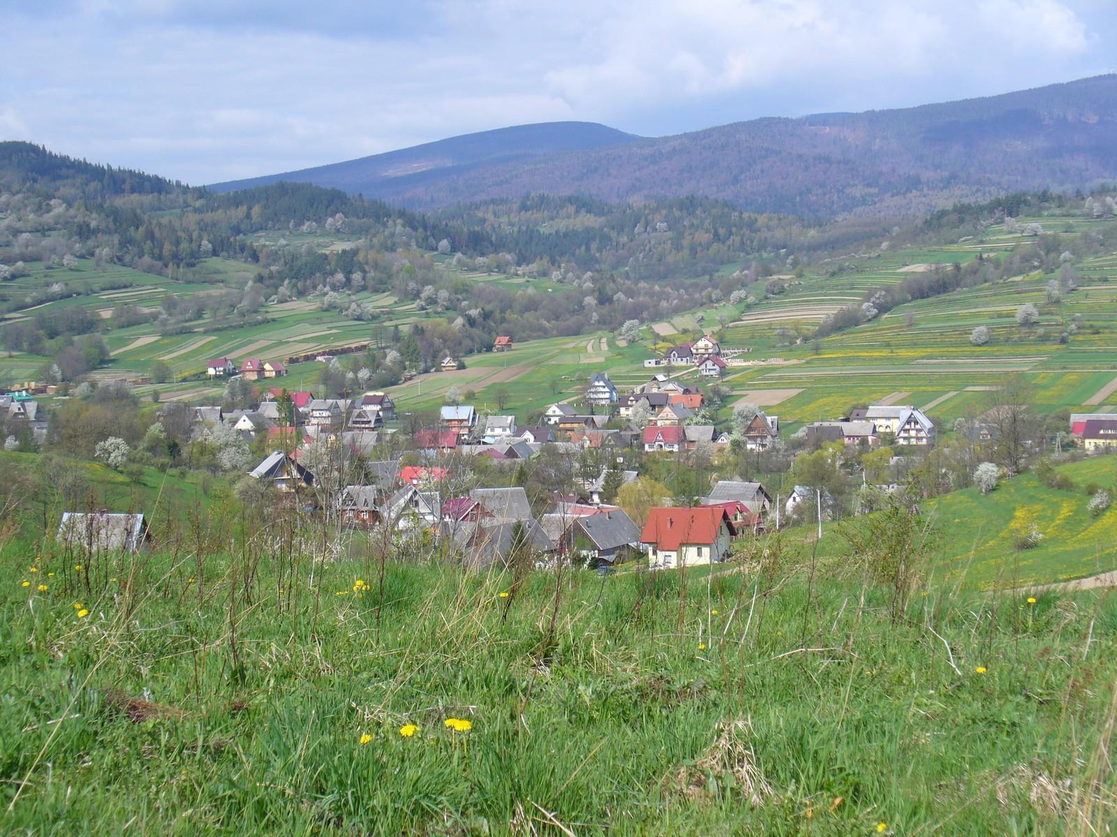 Domki w dolinie