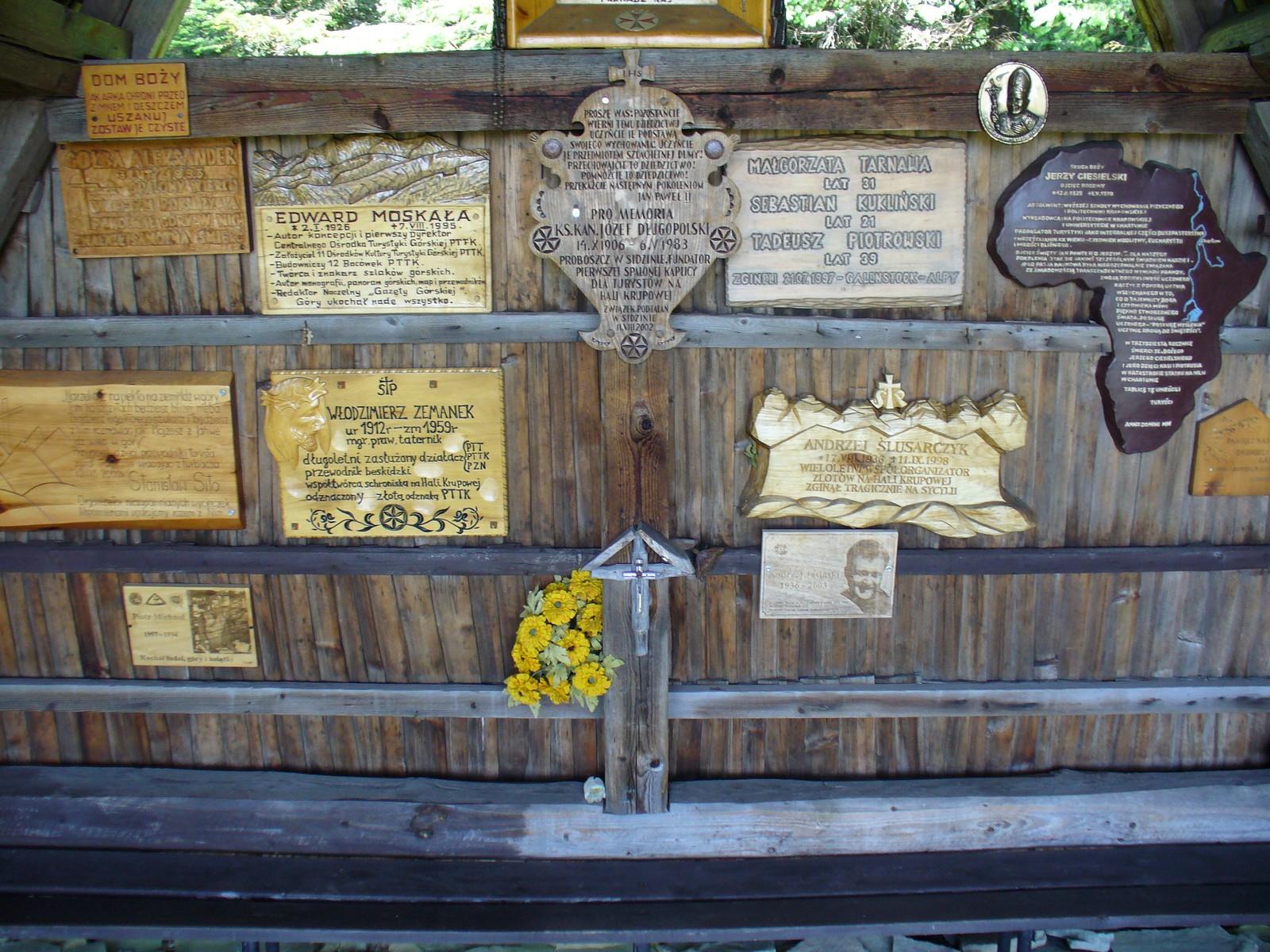Pamiątkowe tablice