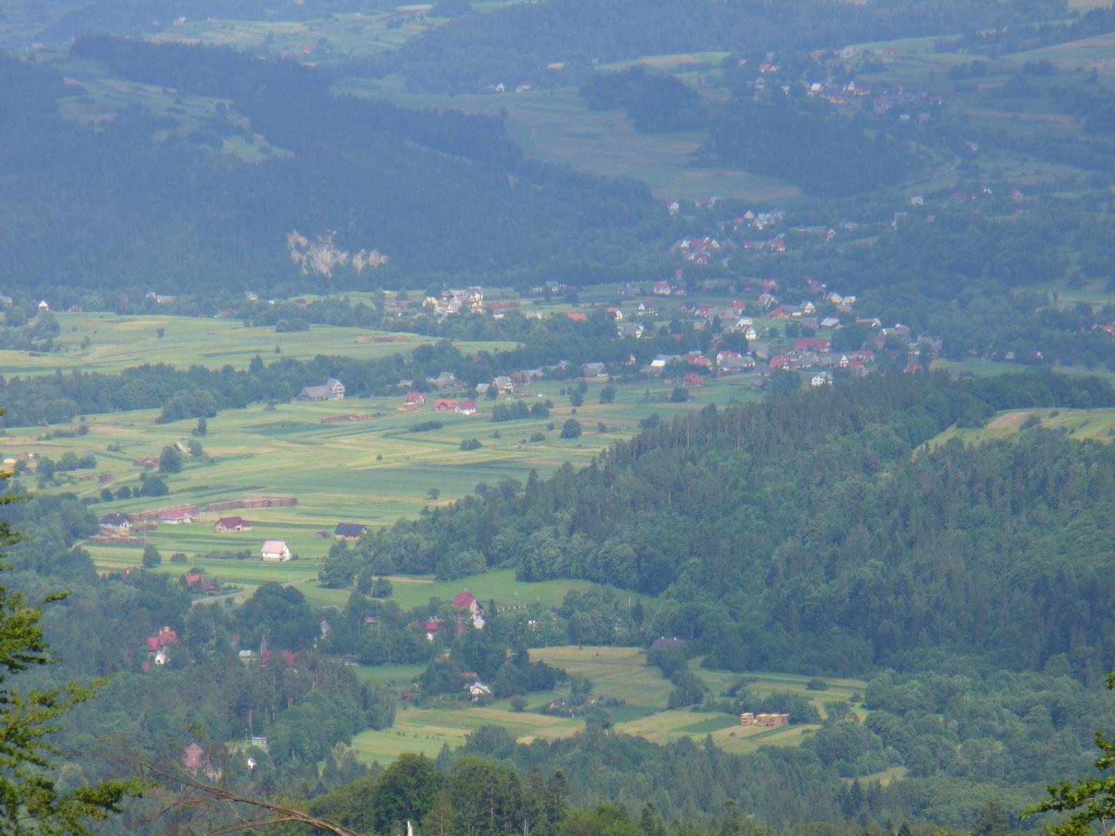 Wieś poniżej...